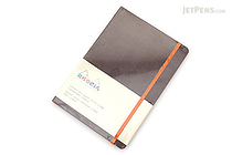 Rhodia Rhodiarama Softcover Notebook - A5 - Lined - Chocolate - RHODIA 117403