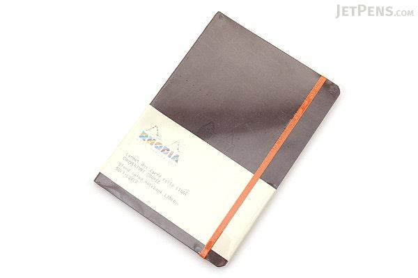 Rhodia Rhodiarama Softcover Notebook - A5 - Lined - Chocolate - RHODIA 117403