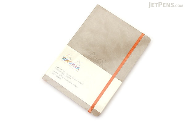 Rhodia Rhodiarama Softcover Notebook - A5 - Lined - Beige - RHODIA 117405