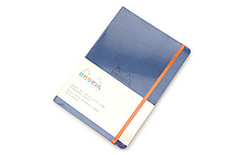 Rhodia Rhodiarama Softcover Notebook - A5 - Lined - Sapphire - RHODIA 117408