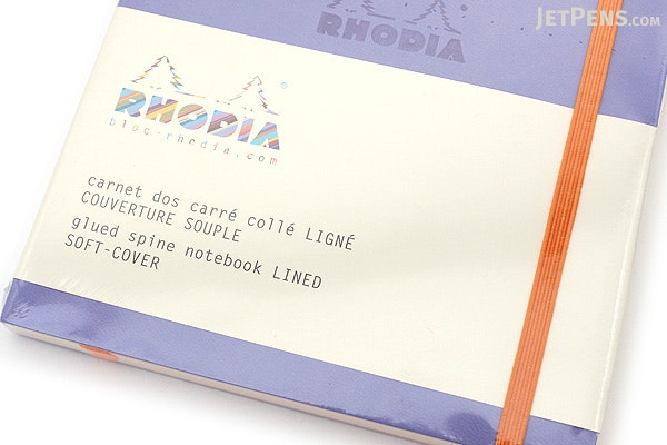 Rhodia Rhodiarama Softcover Notebook - A5 - Lined - Iris - RHODIA 117409