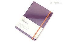 Rhodia Rhodiarama Softcover Notebook - A5 - Lined - Purple - RHODIA 117410
