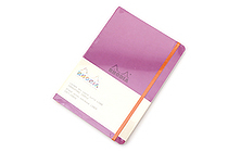 Rhodia Rhodiarama Softcover Notebook - A5 - Lined - Lilac - RHODIA 117411