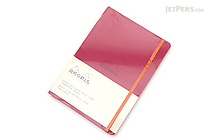 Rhodia Rhodiarama Softcover Notebook - A5 - Lined - Raspberry - RHODIA 117412