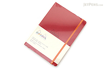 Rhodia Rhodiarama Softcover Notebook - A5 - Lined - Poppy - RHODIA 117413