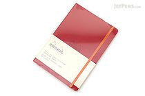 Rhodia Rhodiarama Softcover Notebook - A5 - Lined - Poppy - RHODIA 117413