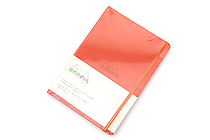 Rhodia Rhodiarama Softcover Notebook - A5 - Lined - Tangerine - RHODIA 117414