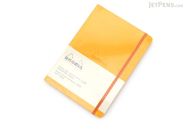Rhodia Rhodiarama Softcover Notebook - A5 - Lined - Yellow - RHODIA 117416