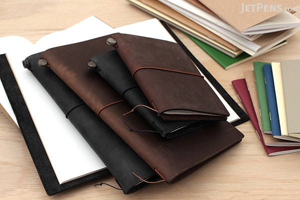 Traveler's Notebook Accessories 024 - Pen Holder Sticker - Black - TRAVELER'S 82262006