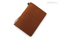 Traveler's Notebook Starter Kit - Passport Size - Camel Leather - TRAVELER'S 15194006