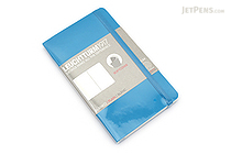 Leuchtturm1917 Softcover Pocket Notebook - A6 - Azure - Plain - LEUCHTTURM1917 349274