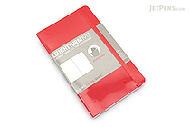 Leuchtturm1917 Softcover Pocket Notebook - A6 - Red - Plain - LEUCHTTURM1917 349309