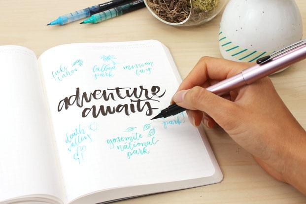 Brush Lettering For Beginners Jetpens Com