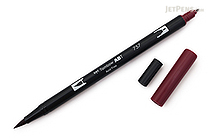 Tombow ABT Dual Brush Pen - 757 - Port Red - TOMBOW AB-T757