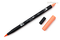Tombow ABT Dual Brush Pen - 873 - Coral - TOMBOW AB-T873