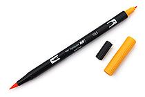 Tombow ABT Dual Brush Pen - 985 - Chrome Yellow - TOMBOW AB-T985
