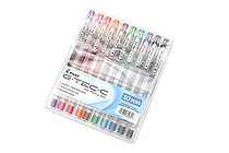 Pilot G-Tec-C Gel Pen - 0.4 mm - 10 Color Set - PILOT 35484