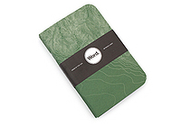 "Word Notebooks - Green Terrain - 3.5"" x 5.5"" - Pack of 3 - WORD NOTEBOOKS W-TERRAINGRN"