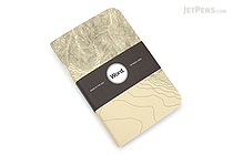 "Word Notebooks - Ivory Terrain - 3.5"" x 5.5"" - Pack of 3 - WORD NOTEBOOKS W-TERRAINIVORY"