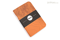 "Word Notebooks - Orange Terrain - 3.5"" x 5.5"" - Pack of 3 - WORD NOTEBOOKS W-TERRAINORG"