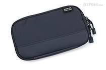 Lihit Lab Smart Fit Actact Compact Pen Case - Navy - LIHIT LAB A-7687-11