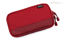 Lihit Lab Smart Fit Actact Compact Pen Case - Red - LIHIT LAB A-7687-3