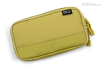 Lihit Lab Smart Fit Actact Compact Pen Case - Yellow Green - LIHIT LAB A-7687-6