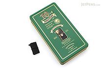 Traveler's Notebook Mini 10th Anniversary Set - Black Leather - Green Can - TRAVELER'S 15195006
