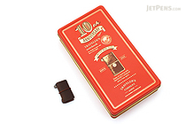 Traveler's Notebook Mini 10th Anniversary Set - Brown Leather - Red Can - TRAVELER'S 15196006