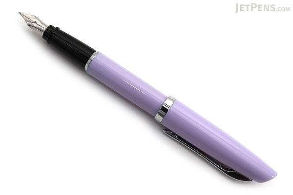 Aurora Style Gemstone Amethyst Fountain Pen - Fine Nib - AURORA E12AM F