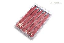 J. Herbin Kings' Sealing Wax with Wick - Red - Pack of 5 - J. HERBIN H322/20