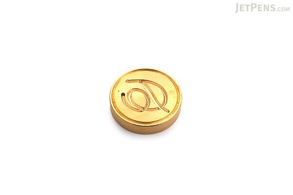 J. Herbin Brass Wax Seal - Script D - J. HERBIN H403/04