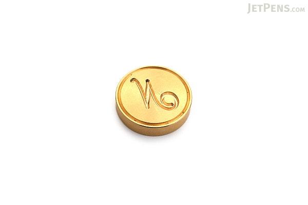 J. Herbin Brass Wax Seal - Script N - J. HERBIN H403/14