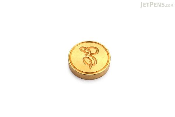 J. Herbin Brass Wax Seal - Script E - J. HERBIN H403/05