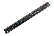 Raymay Slim Color Ruler - 15 cm - Blue - RAYMAY AJR201A