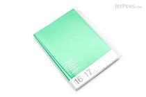 Mark's Tokyo Edge Planner 2017 - Colors - A5 Vertical - Green - MARK'S 17DRI-HV02-GN