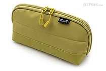 Lihit Lab Smart Fit Actact Wide Open Pen Case - Yellow Green - LIHIT LAB A-7688-6