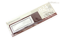 Traveler's Notebook Accessories 024 - Pen Holder Sticker - Brown - TRAVELER'S 82263006