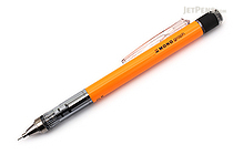 Tombow Mono Graph Shaker Mechanical Pencil - 0.5 mm - Neon Orange - TOMBOW DPA-134D