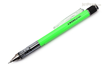 Tombow Mono Graph Shaker Mechanical Pencil - 0.5 mm - Neon Green - TOMBOW DPA-134E