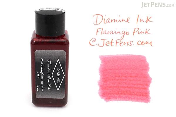Diamine Flamingo Pink Ink - 30 ml Bottle - DIAMINE INK 3026