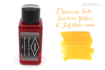 Diamine Sunshine Yellow Ink - 30 ml Bottle - DIAMINE INK 3027