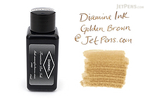 Diamine Golden Brown Ink - 30 ml Bottle - DIAMINE INK 3031