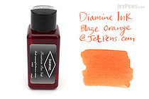 Diamine Blaze Orange Ink - 30 ml Bottle - DIAMINE INK 3035