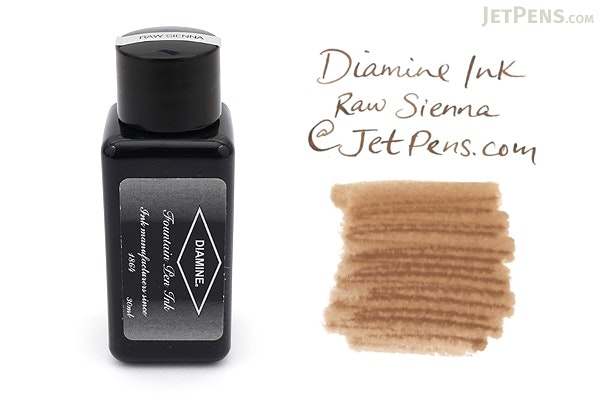 Diamine Raw Sienna Ink - 30 ml Bottle - DIAMINE INK 3040