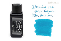 Diamine Havasu Turquoise Ink - 30 ml Bottle - DIAMINE INK 3064