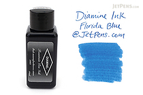 Diamine Florida Blue Ink - 30 ml Bottle - DIAMINE INK 3069