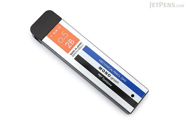 Tombow Mono Graph Lead - 0.5 mm - 2B - Mono Color Case - TOMBOW R5-MG2B01