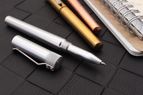 Karas Kustoms Render K Pen - Brass - 0.5 mm - Black Ink - KARAS KK-5017-BRASS