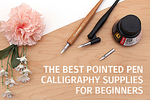 Calligraphy for Beginners: Using a Pointed Pen